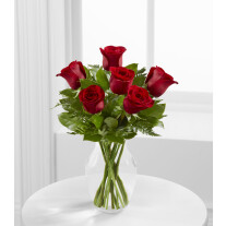 E4-4822 The Simply Enchanting™ Rose Bouquet by FTD® - VASE INCLUDED